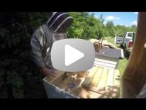 Påsætning af bitømmer i trugstade