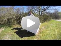 Flytning af bier til et trugstade Del 1 af 2